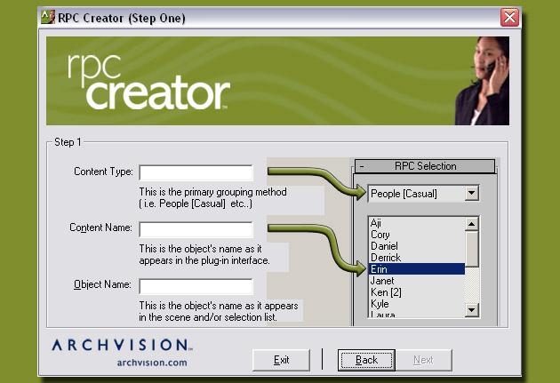Rpc creator | archvision blog.