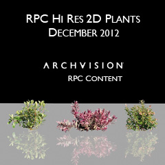RPC models for max – Plantscape vol. 2