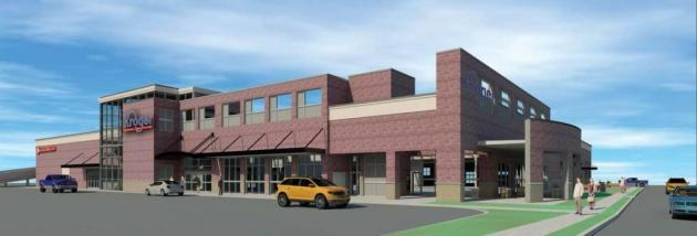 Kroger rendering, Euclid Ave, Lexington, KY.  Image courtesy The Kroger Co.