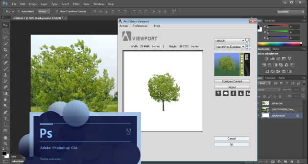 ArchVision Viewport for Adobe Photoshop CS6