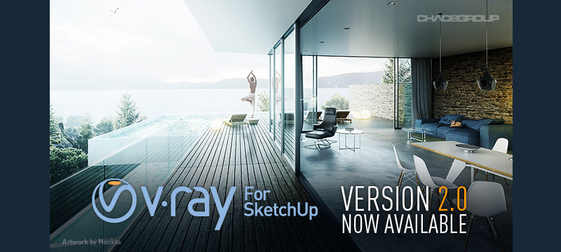 V-Ray 2 0 for SketchUp Officially Released! | ArchVision Blog