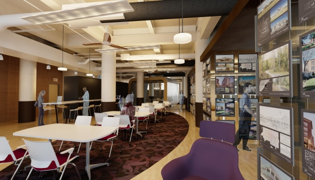 Gathering Space,  LHB, Inc, Minneapolis
