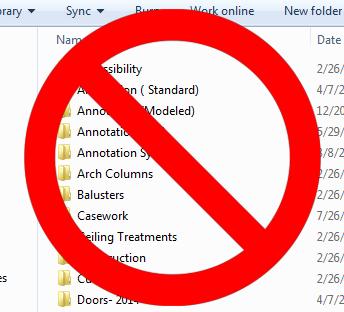 No to File Folders